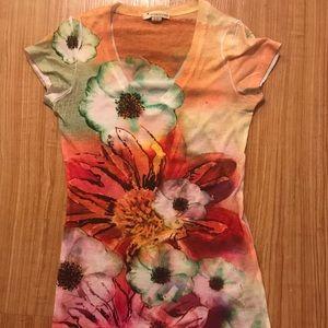 Forever 21 flowery T-shirt